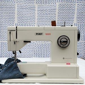 Handwerken, naaimachine